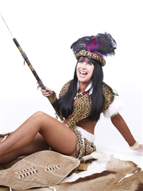 My Zulu Warrior Studio Shoot, as seen on BGT TV 2011 by Silvestri Studios June 2011