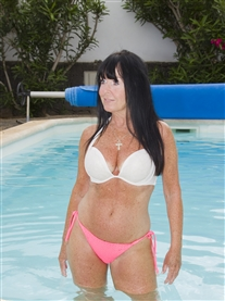 Donna Africa Bikini Poolside Lanzarote Photoshoot May 2016