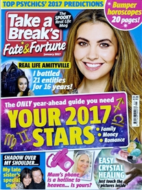 Fate and Fortune Mag Jan 2017 My late sister Kris tragic true story published . Out now!