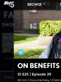 Channel 5 Documentary On Benefits Single & Skint on MY5 _tv  https://www.my5.tv/on-benefits/season-1/episode-25