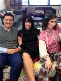 BBC Radio Presenter Nick Conrad, Donna Africa, Lorraine Ward & Helen McDermott on The Mustard Show on Mustard TV 17th January 2017 on Freeview Channel 7 & Virgin Channel 159