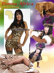 Donna Africa Warrior Pic Poster