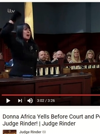 I sue for damages of my Brand Name Donna Africa on ITV Judge Rinder 1st May 2017 Watch on ITV Hub https://www.itv.com/hub/judge-rinder/2a3290a0358