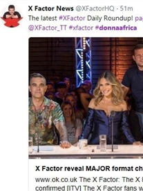 Xfactor shares my blog on twitter how I travelled halfway across the world to conquer my dreams 2nd Aug 2018