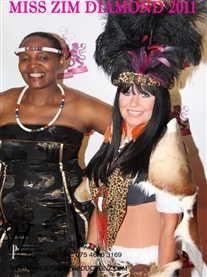 Miss Zim Diamond My Asimbonanga Sangoma Act Sept 2011