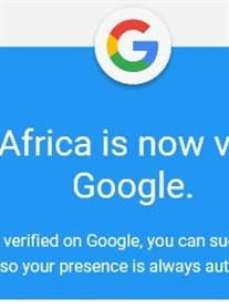 Donna Africa Website verified on Google today! April 2019
