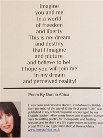 My penned poem Imagination published in book Enchanted Muse June 2019