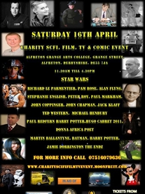 Sci-Fi Film TV & Comic Charity event April 2011