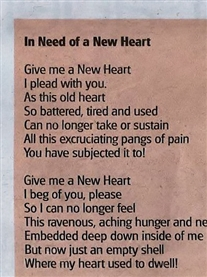 In need of a new heart Norwich Evening News 6th Oct 2011