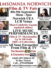 Come meet me & the Stars at this Fun Family event at the UEA