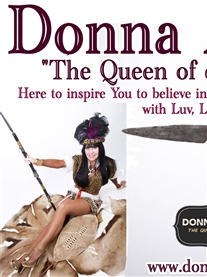 Donna Africa Poster and Banner designed by Terri Hamilton