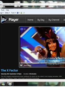 Me as Zulu Warrior Woman seen on ITV  TV