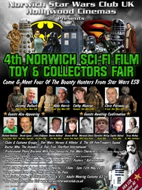 Honoured to be a guest at Norwich Sci-Fi Film Family Event  UEA LCR 12th May 2013