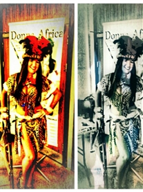 Donna Africa Warrior Woman Art Pic SD Design Norwich 12 MAY 2013