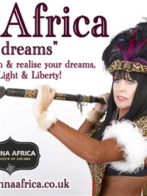 Donna Africa Queen of dreams poster