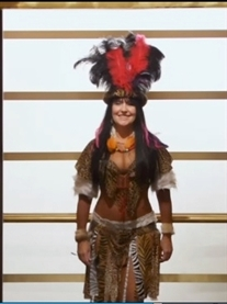 Donna Africa Zulu Warrior on TV Channel 4