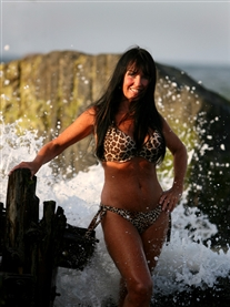 Donna Africa Beach Bikini Shoot Photographer Rob Colman Aug 2013