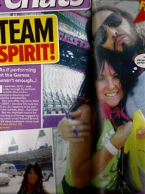 Russell Brand & I Chat Magazine 10th April 2014
