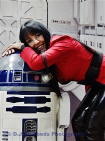 Me & R2D2 Norwich Sci-Fi Film Event 8th June 2014