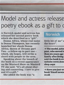 Norwich Evening News 10th Dec 2014